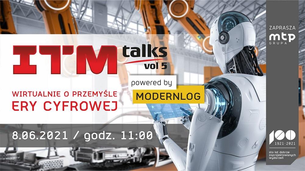 Innowacje w branży logistycznej ITMtalks vol. 5 dlaP:rodukcji.pl