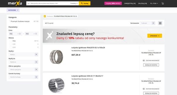 Oferta-firmy-TG-Ersatzteile-Polska-na-platformie-merXu-uszczelnienia techniczne-lozyska-toczne-dlaProdukcji.pl