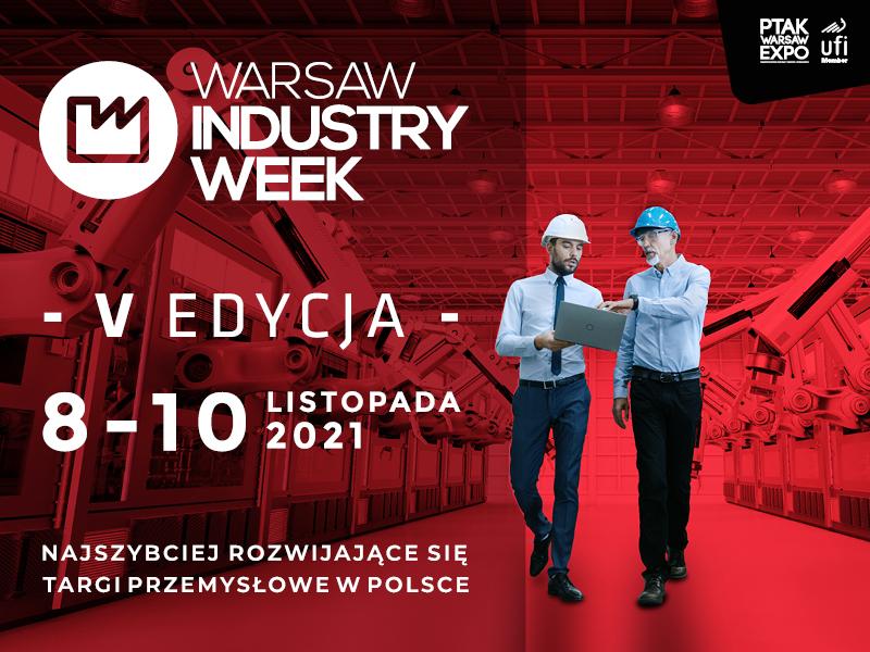 Warsaw Industry Week 2021 dlaProdukcji.pl