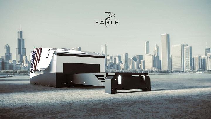 EAGLE LASER z 20kW laserem fiber na targach FABTECH 2021 dlaProdukcji.pl