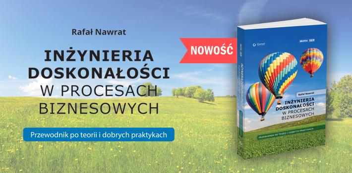 Premiera-ksiazki-Inzynieria-doskonalosci-w-procesach-biznesowych-Rafala-Nawrata-dlaProdukcji.pl